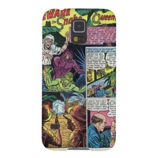 Capa Para Galaxy S5 Beware a caixa da galáxia S5 da rainha Samsung do