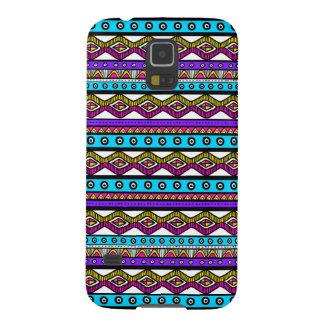 Capa Para Galaxy S5 Caixa asteca feminino azul roxa cor-de-rosa da