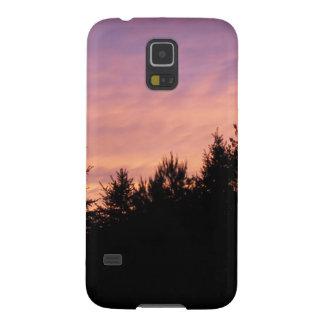 Capa Para Galaxy S5 Caixa da galáxia S5 de Samsung - por do sol sobre