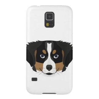 Capa Para Galaxy S5 Cão de montanha de Bernese da ilustração