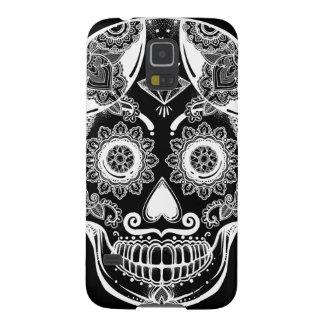 Capa Para Galaxy S5 Caso do teste padrão do crânio do açúcar