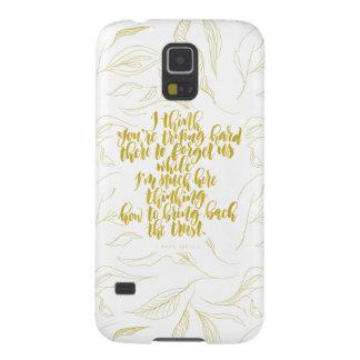 Capa Para Galaxy S5 Citações do amor: Duro de tentativa lá para