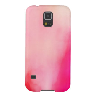 Capa Para Galaxy S5 Colorido alaranjado coral do rosa abstrato da