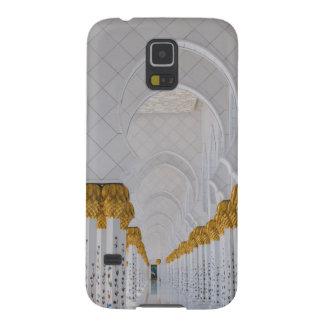 Capa Para Galaxy S5 Colunas do Sheikh Zayed Grande Mesquita, Abu Dhabi