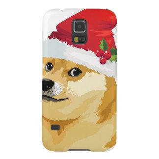 Capa Para Galaxy S5 Doge do Natal - doge do papai noel - cão do Natal