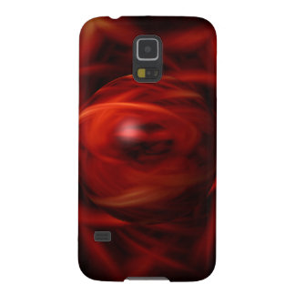 Capa Para Galaxy S5 Esfera do fogo vermelho