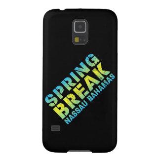 Capa Para Galaxy S5 Férias da primavera Nassau Bahamas