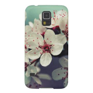 Capa Para Galaxy S5 Flor de cerejeira cor-de-rosa, Cherryblossom,