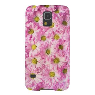 Capa Para Galaxy S5 Flores cor-de-rosa