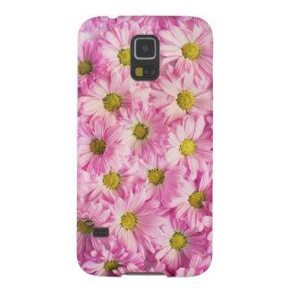 Capa Para Galaxy S5 Flores cor-de-rosa bonitas