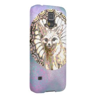 Capa Para Galaxy S5 Fox de brilho do deserto