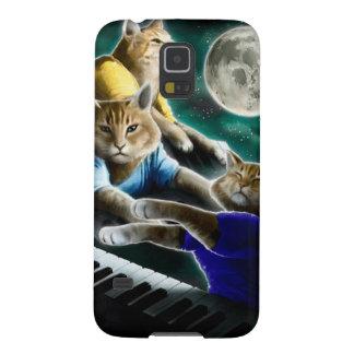 Capa Para Galaxy S5 gato do teclado - música do gato - memes do gato