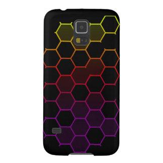 Capa Para Galaxy S5 Hex da cor no preto