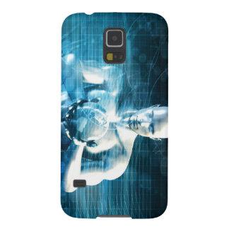 Capa Para Galaxy S5 Homem que guardara o globo com indústria da