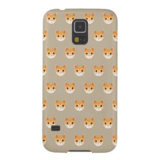 Capa Para Galaxy S5 Ilustração bonito do gato de gato malhado