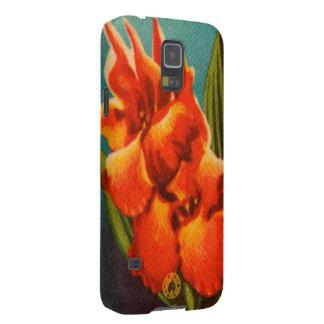 Capa Para Galaxy S5 Íris vermelha