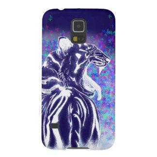 Capa Para Galaxy S5 Língua estrelado do tigre