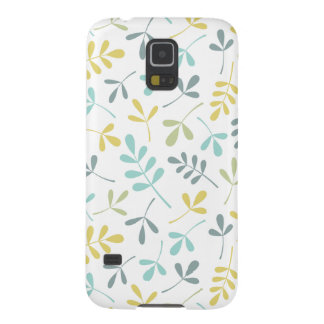 Capa Para Galaxy S5 Mistura Assorted da cor do teste padrão das folhas