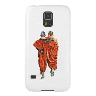 Capa Para Galaxy S5 Monges budistas