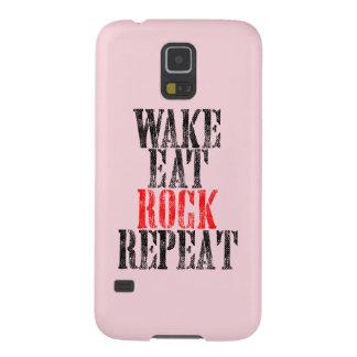 Capa Para Galaxy S5 O ACORDAR COME A REPETIÇÃO da ROCHA (o preto)