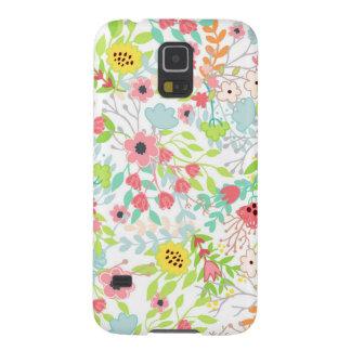 Capa Para Galaxy S5 O primavera bonito floresce o teste padrão floral