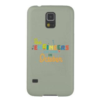 Capa Para Galaxy S5 Os engenheiros são em outubro Zs52p nascidos