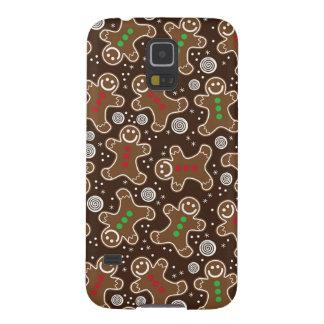 Capa Para Galaxy S5 Pão-de-espécie verdes vermelhos bonitos do Natal
