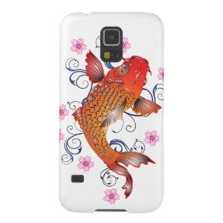 Capa Para Galaxy S5 Peixes de Koi