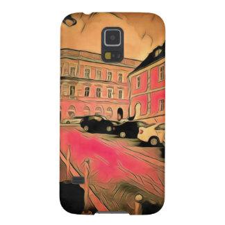 Capa Para Galaxy S5 Pintura de Sibiu