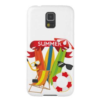 Capa Para Galaxy S5 Praia Watersports do verão