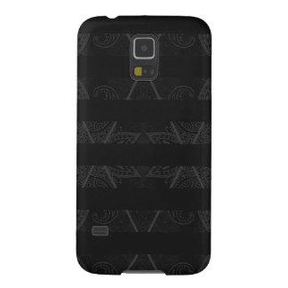 Capa Para Galaxy S5 Preto Embellished Argyle listrado