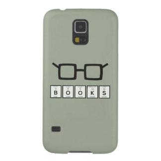 Capa Para Galaxy S5 Registra os vidros Zh6zg do nerd do elemento