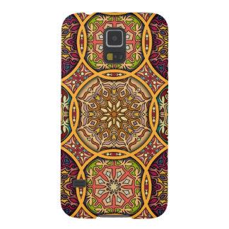 Capa Para Galaxy S5 Retalhos do vintage com elementos florais da