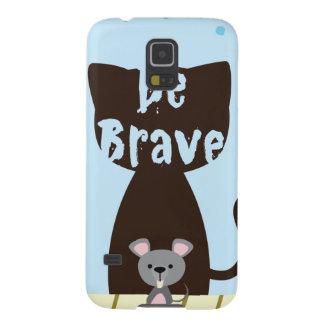 Capa Para Galaxy S5 Seja rato pequeno bravo