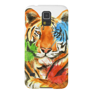 Capa Para Galaxy S5 Splatter do tigre