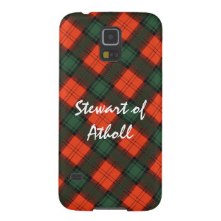 "Capa Para Galaxy S5 ""Stewart Tartan escocês do Kilt de Atholl"""