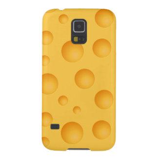 Capa Para Galaxy S5 Teste padrão amarelo do queijo
