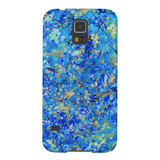 Capa Para Galaxy S5 Teste padrão bonito azul do mar elegante com laço