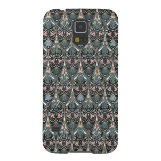 Capa Para Galaxy S5 Teste padrão militar da cor do squama luxuoso