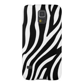 Capa Para Galaxy S5 Teste padrão preto e branco das listras do