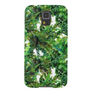 Capa Para Galaxy S5 Teste padrão verde da queda da floresta da