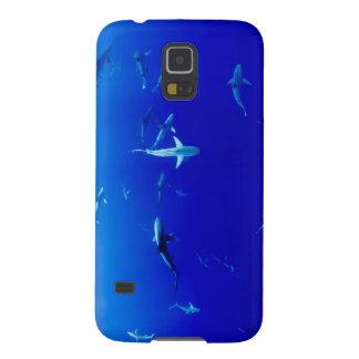 Capa Para Galaxy S5 Tubarões subaquáticos