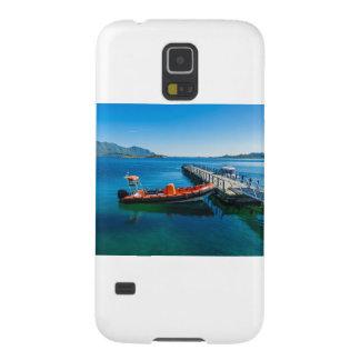 Capa Para Galaxy S5 Veado da aterragem e barco da velocidade