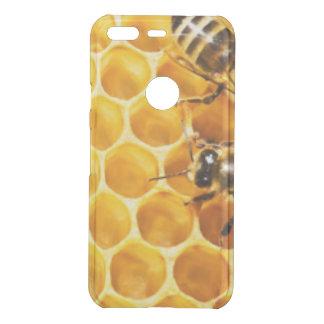 Capa Para Google Pixel Da Uncommon Favo de mel e design do teste padrão das abelhas