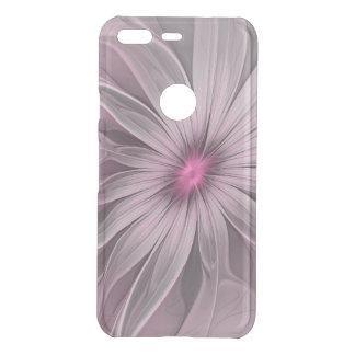 Capa Para Google Pixel Da Uncommon Flor cor-de-rosa que espera uma arte do Fractal do