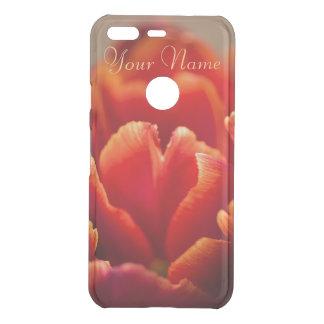 Capa Para Google Pixel Da Uncommon Pétalas vermelhas bonito da tulipa. Adicione seu