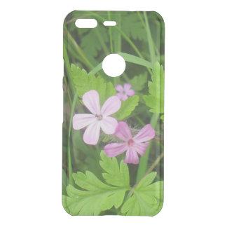 Capa Para Google Pixel Da Uncommon Wildflowers cor-de-rosa bonito