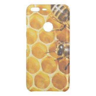 Capa Para Google Pixel XL Da Uncommon Favo de mel e design do teste padrão das abelhas