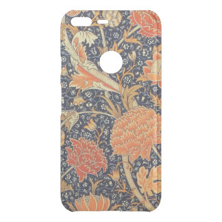 Capa Para Google Pixel XL Da Uncommon Teste padrão floral de Nouveau da arte de William
