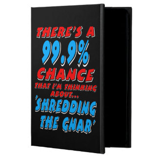 Capa Para iPad Air 2 99,9% SHREDDING O GNAR (branco)